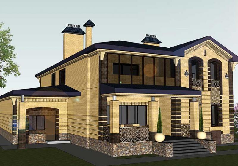 Архитектурное проектирование общественных зданий и частных домов